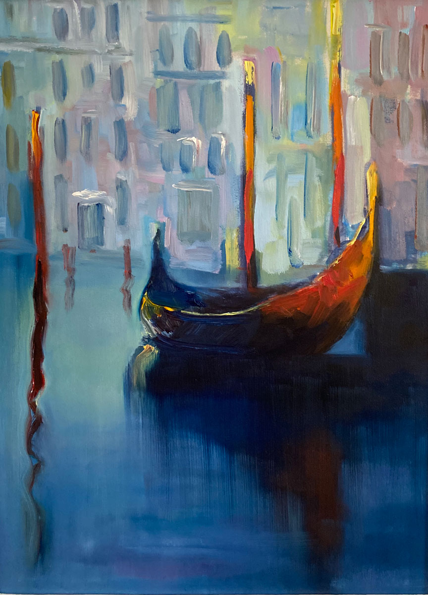 A FLOATING MOMENT - VENETIAN CANALS