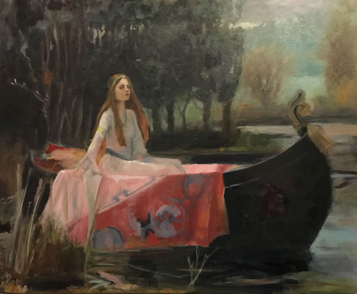 DEEP IN DESPERATE THOUGHT - after waterhouse