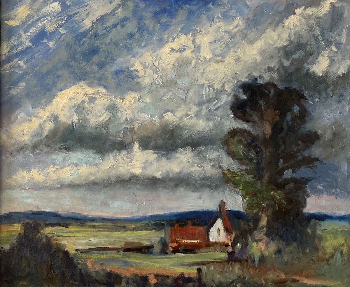 CLOUDY SKIES - After Seago