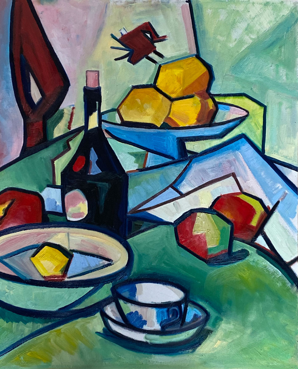 APPLES AND ORANGES - after Peploe