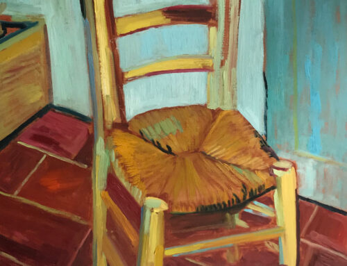 Take a Pew & Rest – after Van Gogh