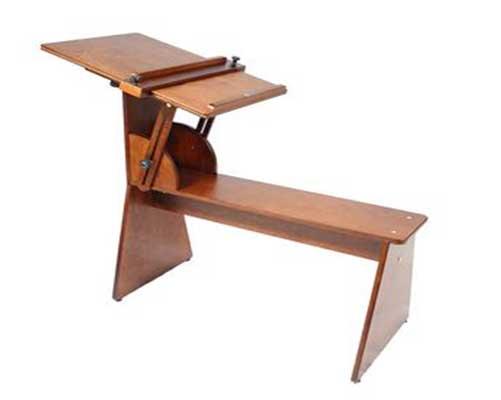 art bench donkey