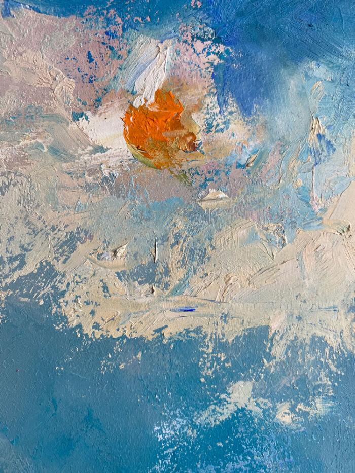 a medley of colour close up