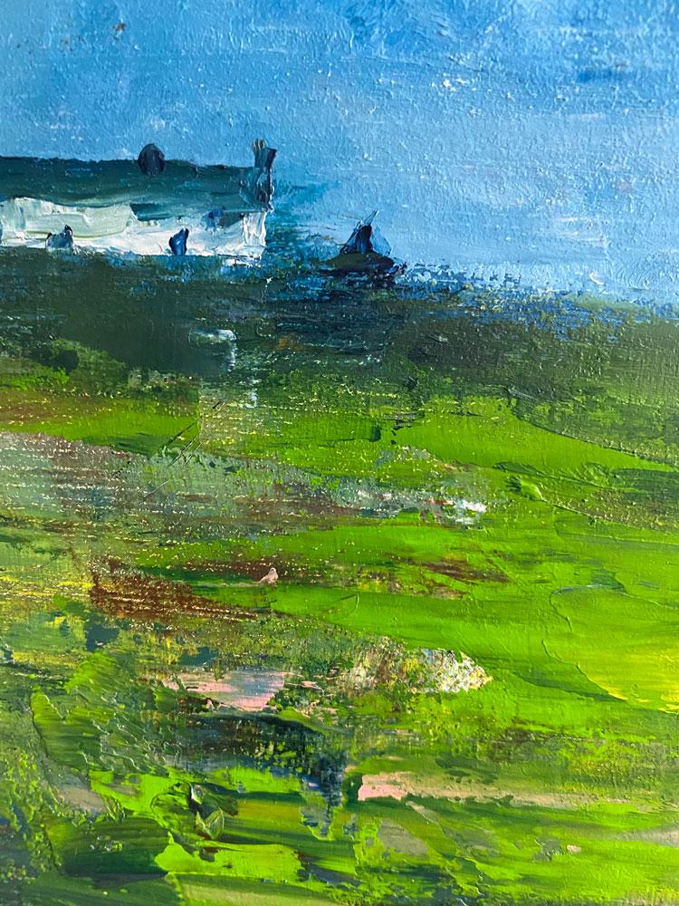 an Irish abstraction close up