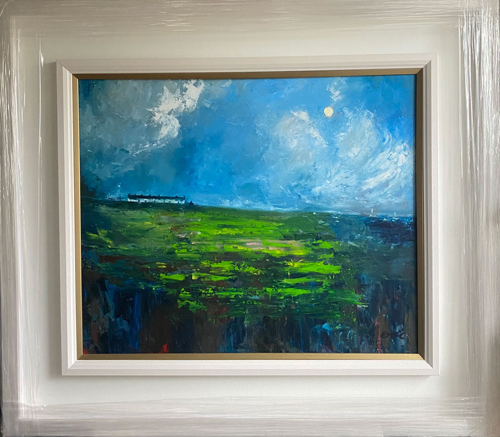an irish abstraction in frame