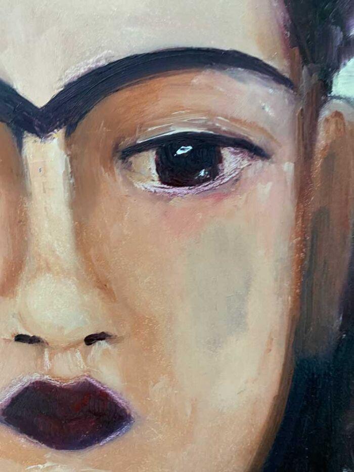 Frida study close up