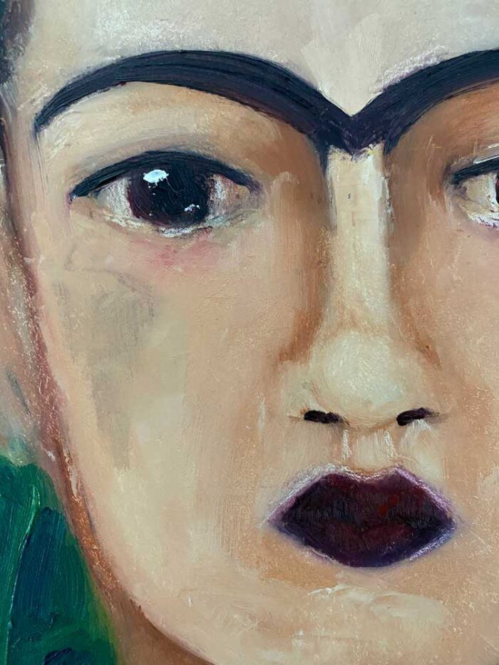Frida study close-up
