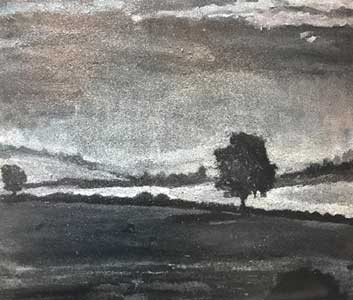 monochrome painting in workshops