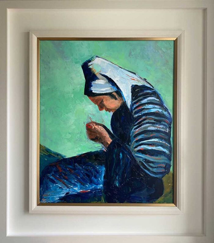 ode to the seamstress - in frame