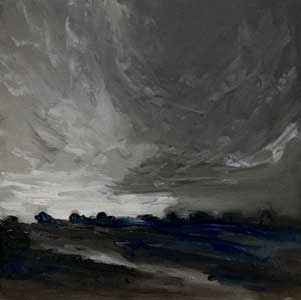 monochrome painting example used in workshop