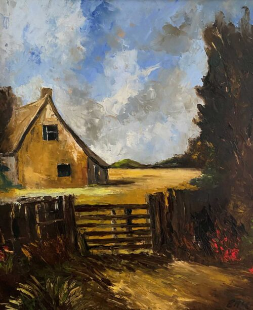 In The Countryside - after Constable