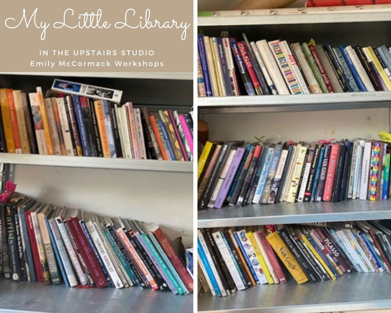 my little library of art books