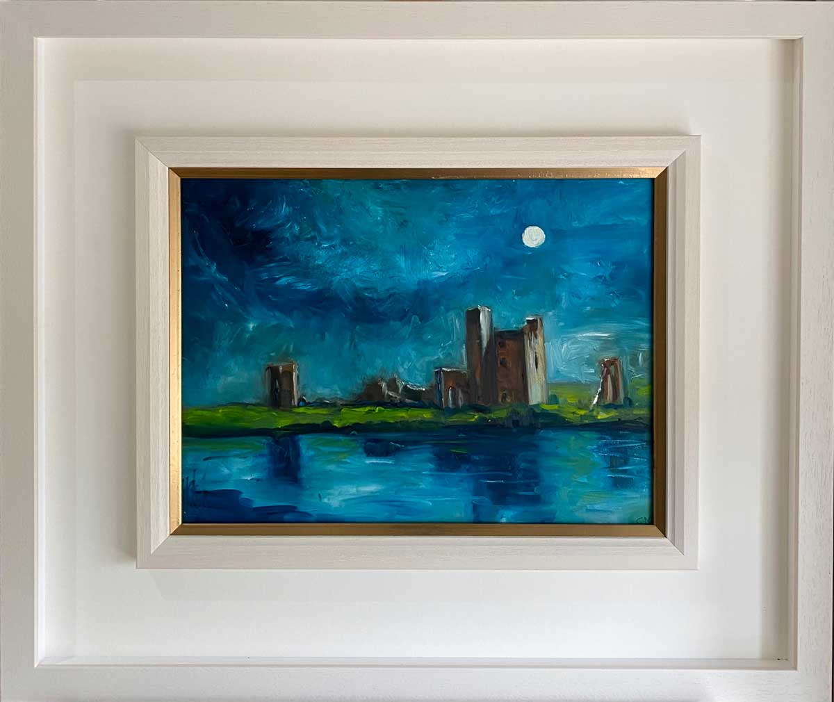 Newtown Abbey Trim Co. Meath - oil painting by Emily McCormack
