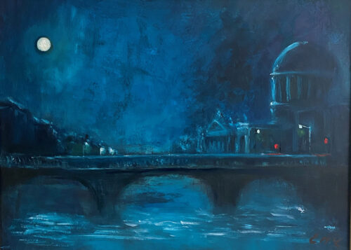 Cityscape Oil Paintings