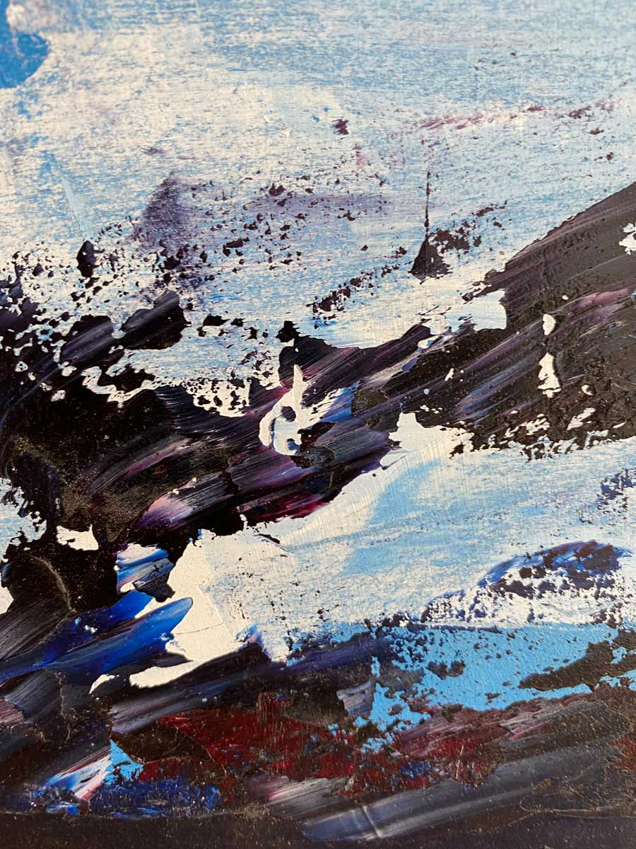 THE STAR ATTRACTION horse racing oil painting close up