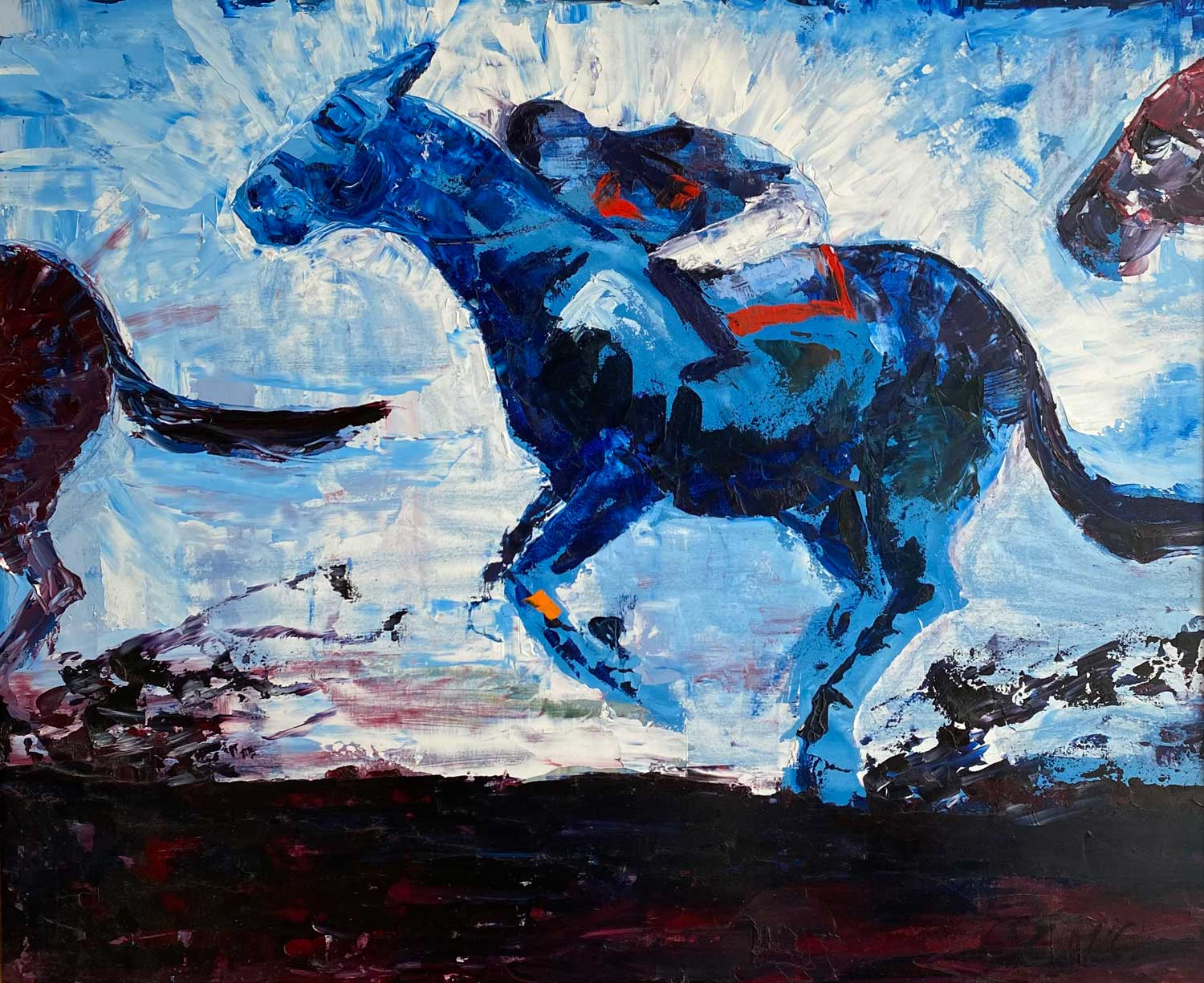 THE STAR ATTRACTION - Oil Painting by artist Emily McCormack