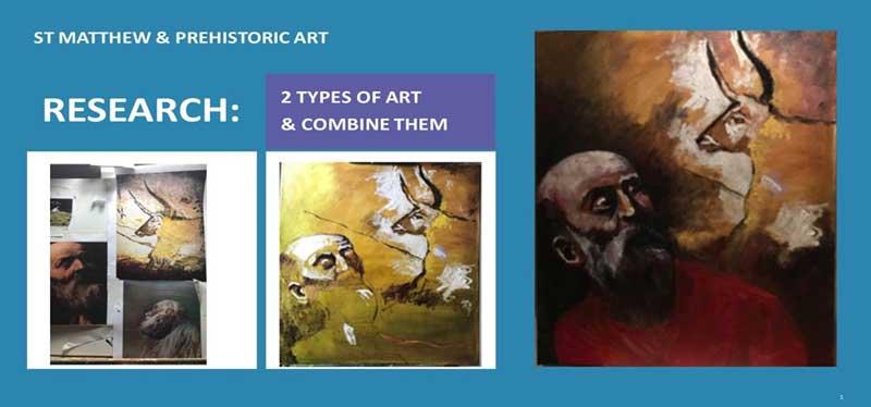 combine 2 pieces of art
