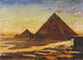 The Pyramids (c.1921) National Trust. Chartwell