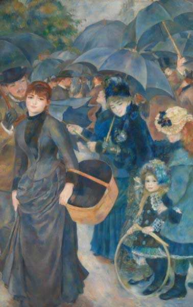 The Umbrellas - Renoir