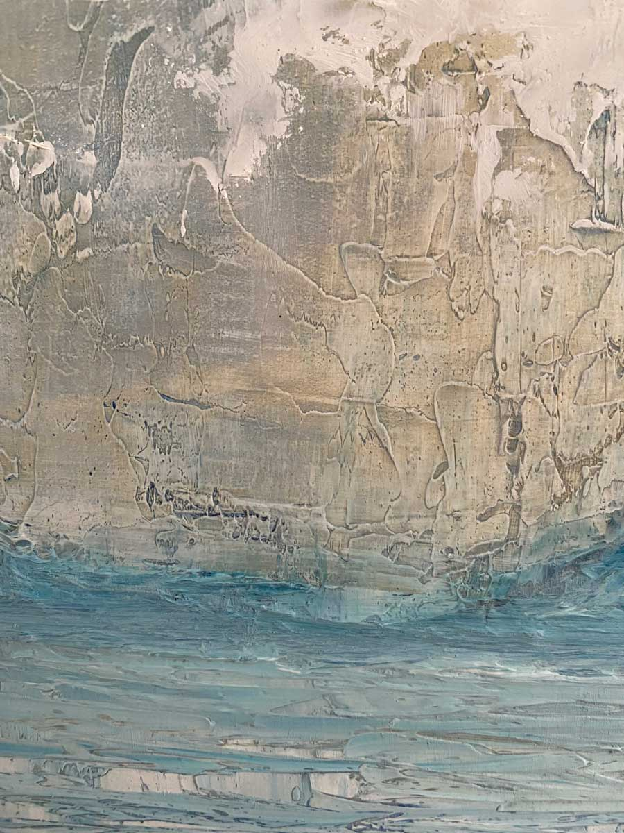 Coumeenole Beach Dingle Peninsula Original Seascape Oil Painting