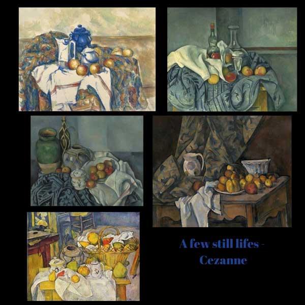 Cezanne's use of the colour orange